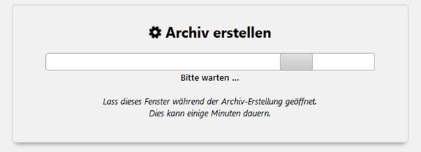 Plugin Duplicator Archiv erstellen - der zweite Schritt beim Umzug von WordPress