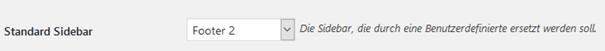 """Plugin """" Simple Page Sidebars"""" Ersetzung der Standard Sidebar"""
