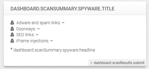 WordPress Plugin Security Antivirus Scanner – CWIS Spyware Check
