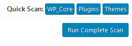 "WordPress Plugin Anti-Malware Security and Brute-Force Firewall ""Run Complete Scan"""