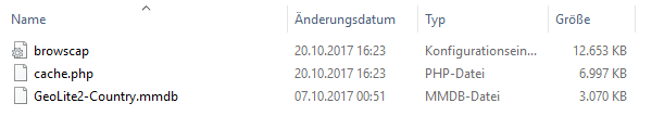 Die von Duplicator entdeckte große Datei