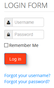 Joomla Log in Button mit anderer Farbe