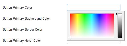 Joomla Auswahl einer Farbe mit der Maus z. B. für Buttons