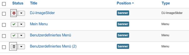"""Joomla 4 Module mit 2 unterschiedlichen Modultypen auf Position """"banner"""""""