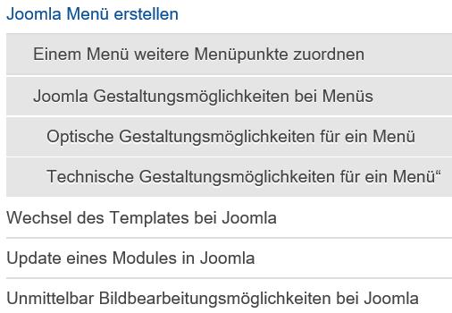 """Joomla Das gleiche Menü beim Template """"Beez3"""" Position """"position-12"""""""