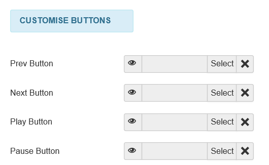 Joomla Slider 4 Customise Buttons