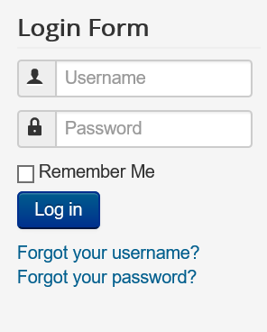 "Joomla Login Form ""No"" Allow User Registration"