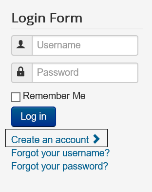 "Joomla Login Form ""Yes"" Allow User Registration"
