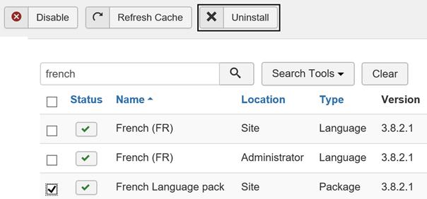 Joomla Ergebnis der Suche nach french