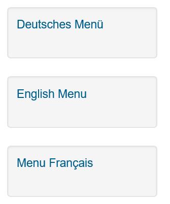 Joomla Menü vor Erstellung Modul Language Switcher