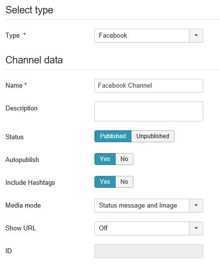 Auto TweetNG Einstellungen Channel data