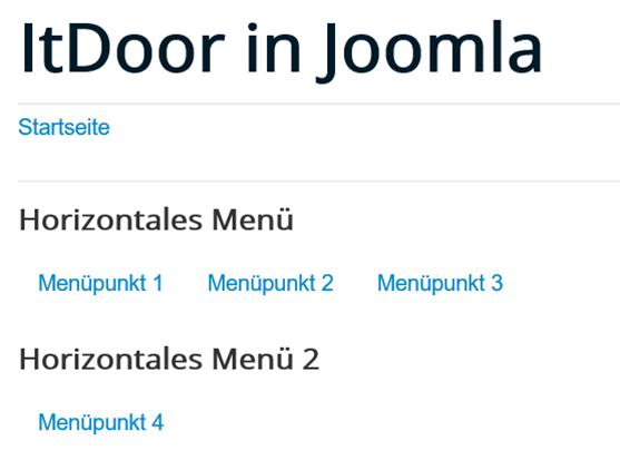 Joomla 2 Menüs mit jeweils 1 Modul nicht in einer Zeile möglich
