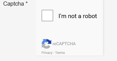 """Captcha in Joomla mit Size """"Compact"""" auf der Website"""
