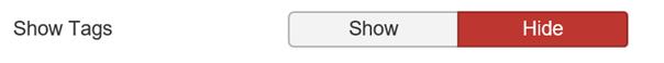 Joomla Tags bei Artikeln nicht zeigen