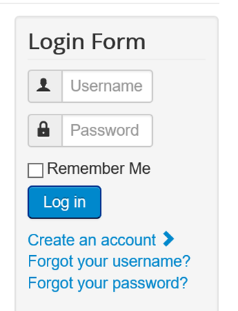 Login Form durch Joomla Installation