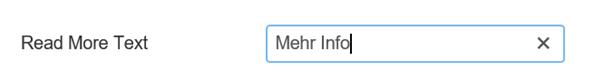 Joomla Den Text für den Read more Button verändern