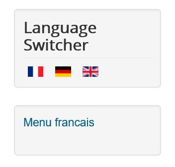 Joomla Website Language Switcher ist installliert