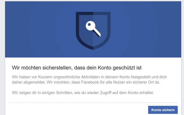Facebook: Wie man wieder Zugriff auf sein Konto haben kann