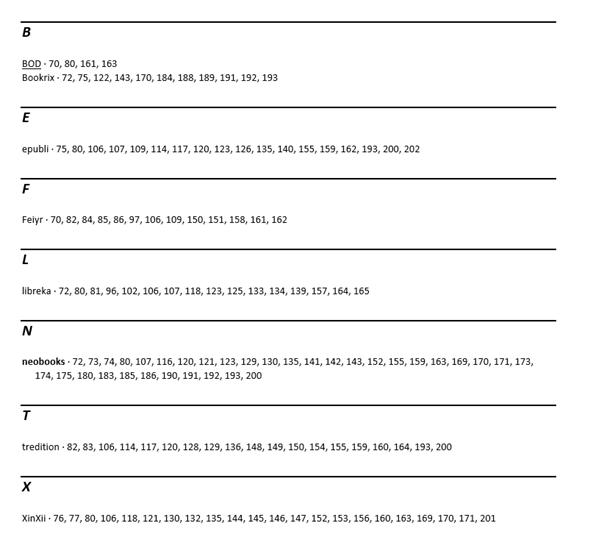 Word Stichwortverzeichnis Ergebnis der Automarkierung