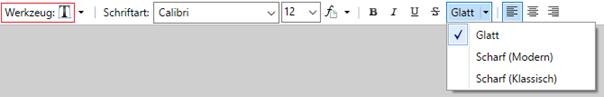 Textverarbeitungsmöglichkeiten bei PAINT.NET auf einen Blick