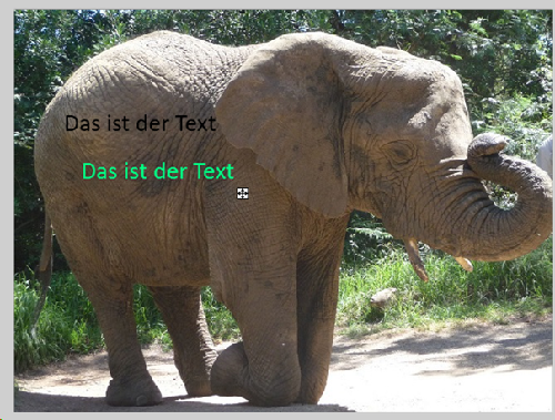 """Kaum sichtbare Unterschiede beim Text bei der Funktion """"Glatt"""" in PAINT.NET"""