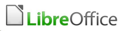 Logo von LibreOffice, ODT wird in LibreOffice benutzt