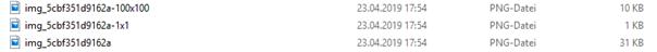 Upload Verzeichnis WordPress 3 Bilddateien ohne mittelgroßes Bild