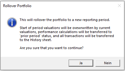 Informationen zu Rollover Portfolio