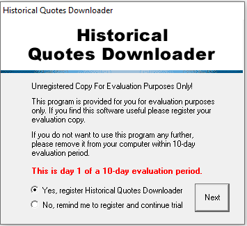 Registrierung sofort oder spätestens nach 10 Tagen