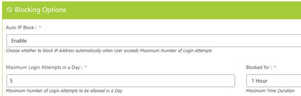 Security Settings beim WordPress Plugin Captcha Booster