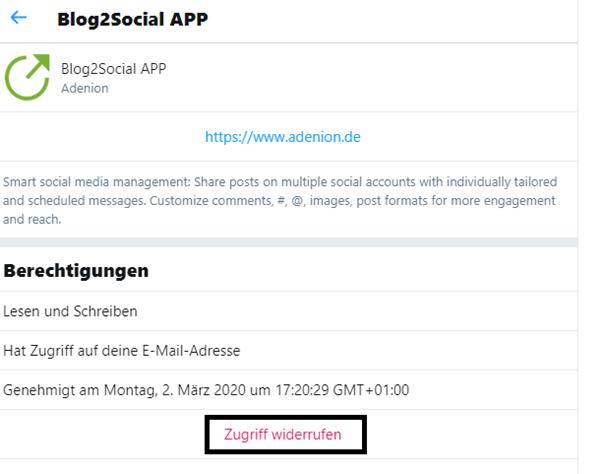 Twitter: Zugriff von  Drittanbieter-Apps widerrufen